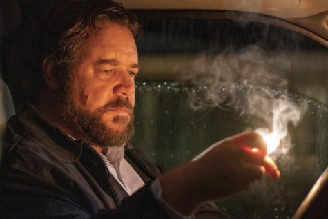 """Unhinged"" follows the story of ""the man"" (Russell Crowe) who becomes unhinged and takes his anger out on a woman who honks at him."