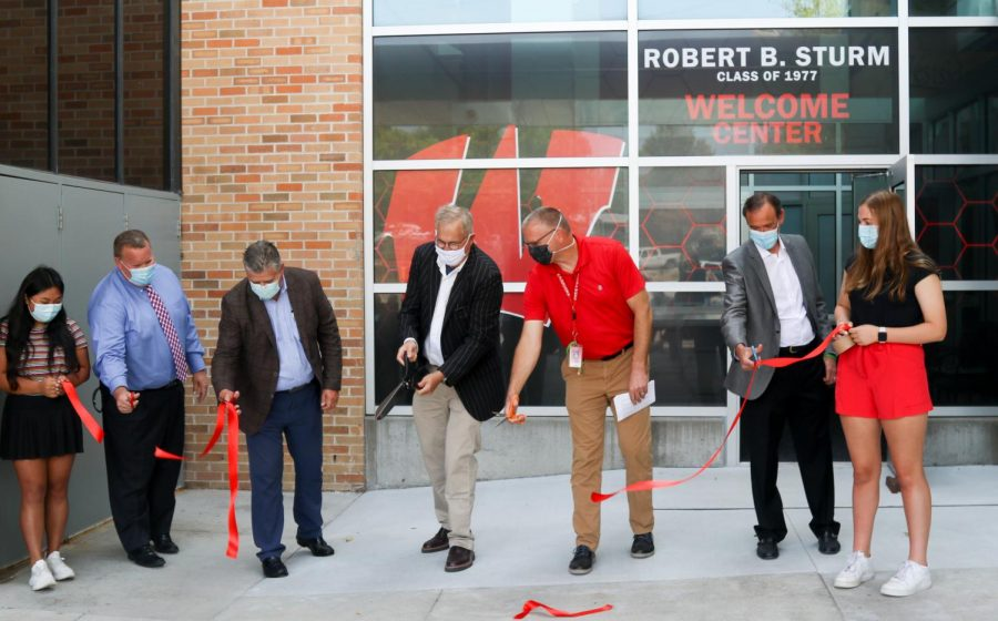 The Robert B Sturm Welcome Center opened on Sept. 21.