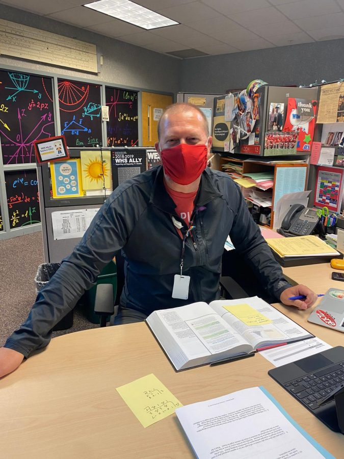 """""""I guess just being surprised, especially in the dark. Something or someone jumping out at you would probably be the biggest one,"""" Math instructor Kevin Koch."""