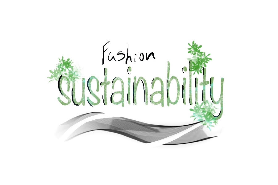 The fashion department is making efforts to be sustainable by recycling materials and giving old clothing new life.