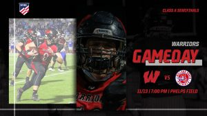 #2 Westside Warriors (10-0) vs #3 Millard South Patriots (8-1) | Westside Football Semifinal Livestream