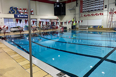Westside High School's Pool Heater Breaks