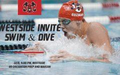 Westside vs Creighton Prep and Marian | Westside Varsity Swim & Dive