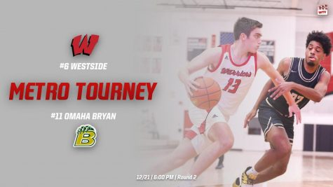 Westside vs Omaha Bryan   Omaha Metro Conference Tournament Round Two