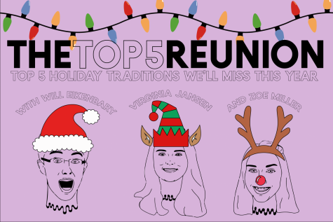 Top 5 Podcast Reunion: Top 5 Holiday Traditions We