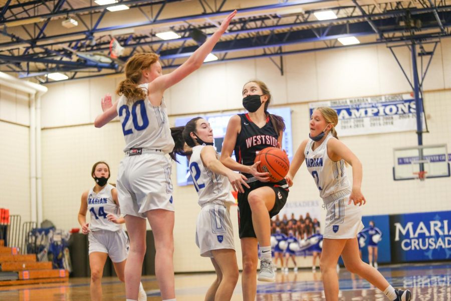 PHOTO+GALLERY%3A+Girls+Junior+Varsity+Basketball+vs+Marian