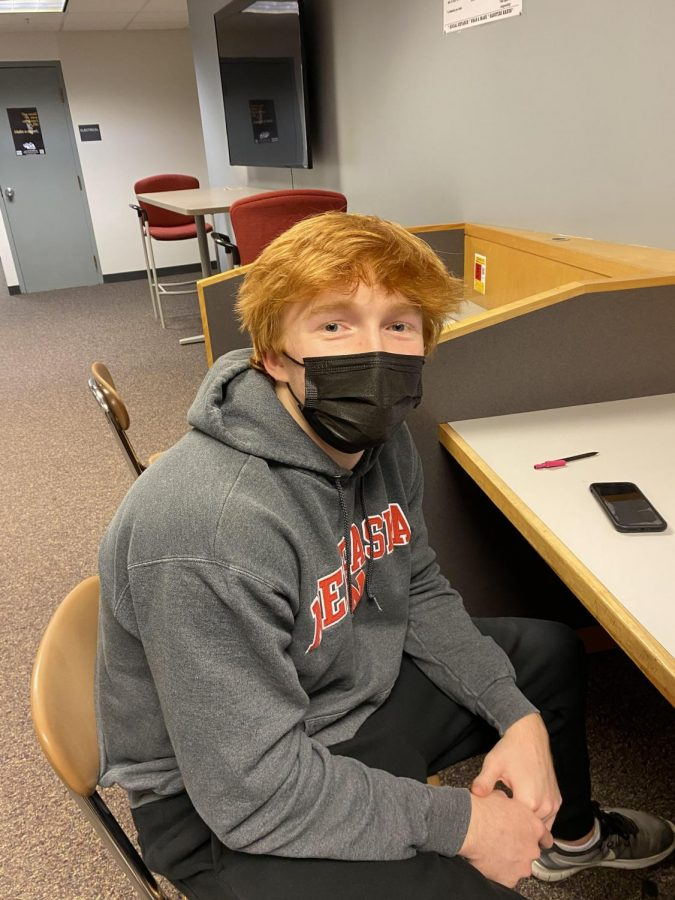 """""""I spent time with family, and I went to an escape room in Aksarben,"""" junior Tommy Connelly."""