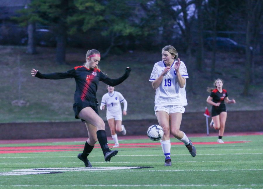 Girls Soccer Stuns With an Upset Win Over Marian, Falls to Millard North