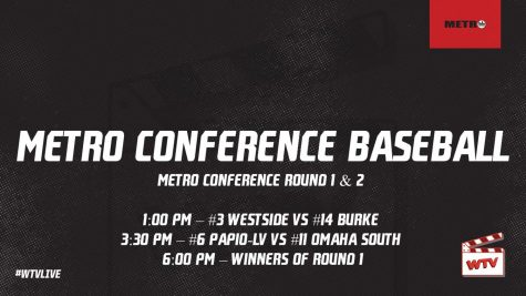 Omaha Metro Conference Baseball Tournament Round 1 and 2 | WTV Live