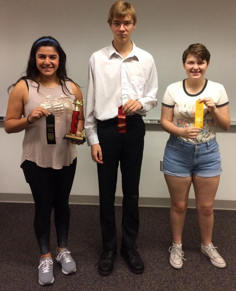German students compete in state convention