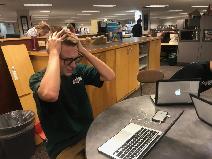 Are students suffering from too much homework?