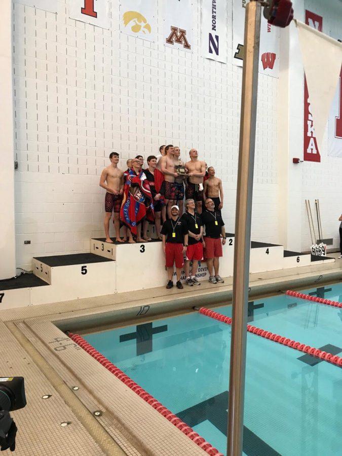 RECAP: Swim and dive compete at State meet