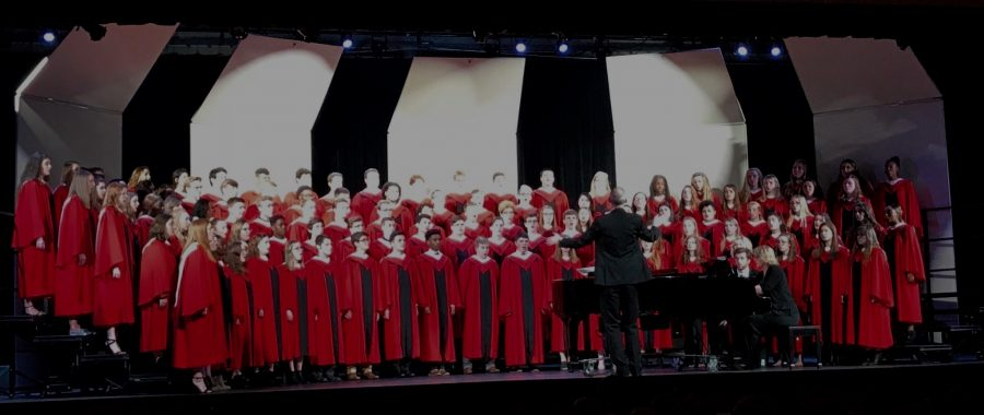 Choir Students Travel to Fremont to Compete in District Competition