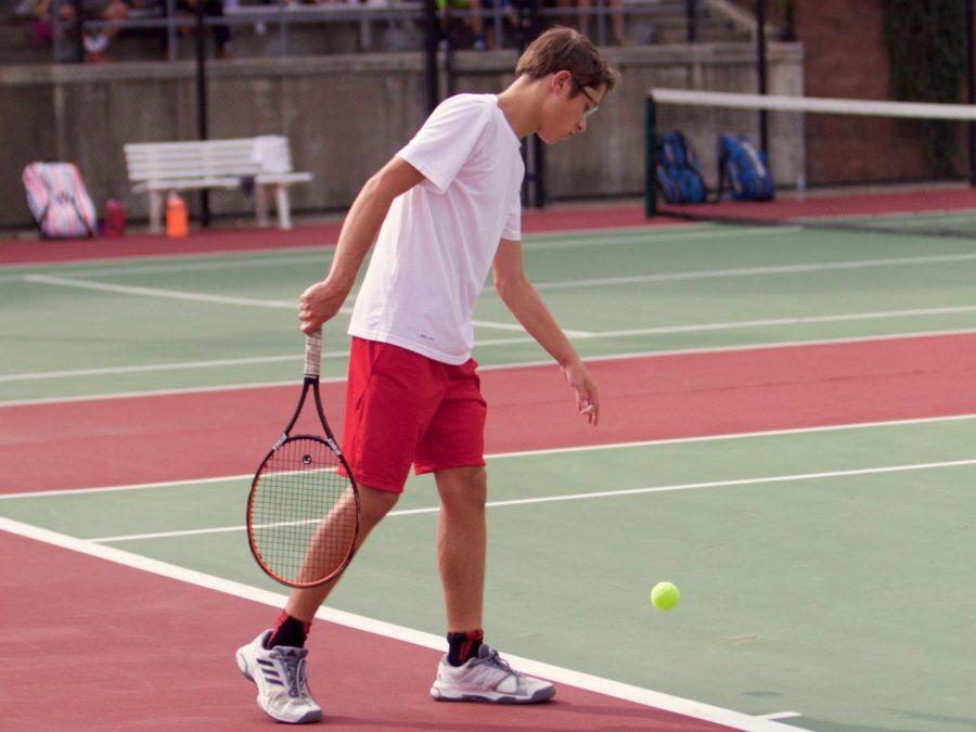 Freshmen+on+Varsity+Tennis+Emerge+as+State+Contenders