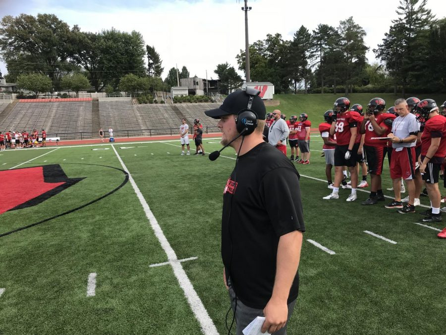 Coach Sortino comes to the High School