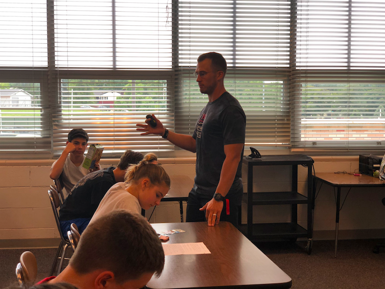 Doing it All: New teacher impacting students inside and outside of the classroom