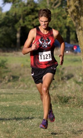 Senior Runner Shining as Cross Country Season Runs on