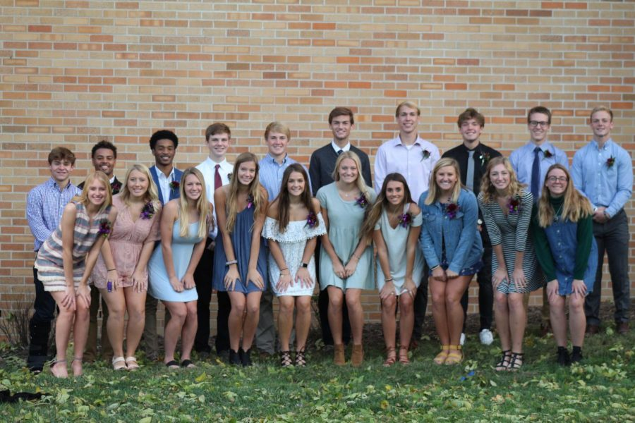 Meet the Homecoming Court of 2018