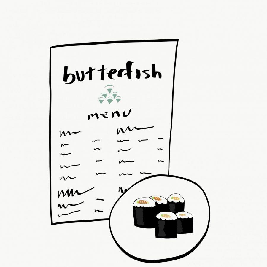Butterfish Sushi