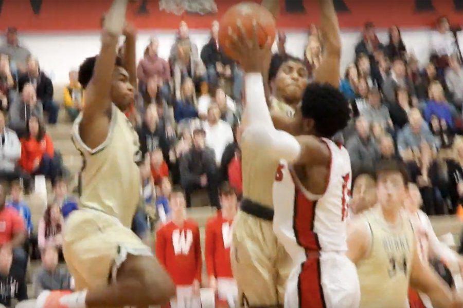 Westside vs Burke   Varsity Boys Basketball Highlights
