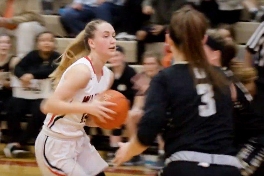 Westside vs Burke   Varsity Girls Basketball Highlights
