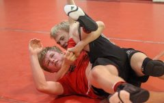 Wrestler Perseveres Despite Condition