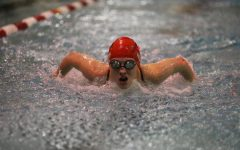Swimming and Diving Prepares for Metro Meet