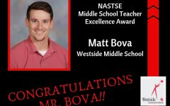 Westside Middle School Engineering and Technology Teacher Wins Award