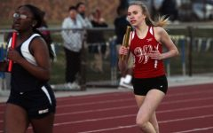 Sophomore Grace Sagert is a member of the varsity girls track and field team.