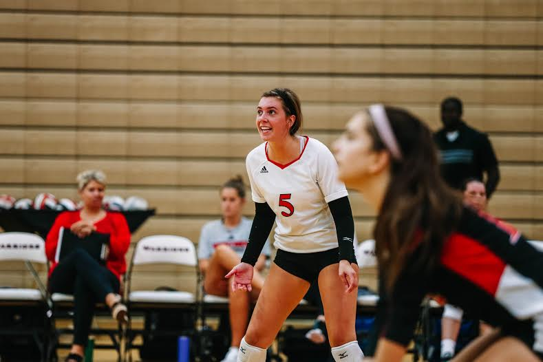 Varsity Volleyball Wins First Away Match of the Season