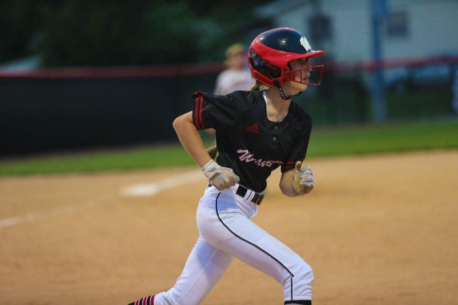 Freshman Addie Leinen was apart of the 2019 Westside softball team.