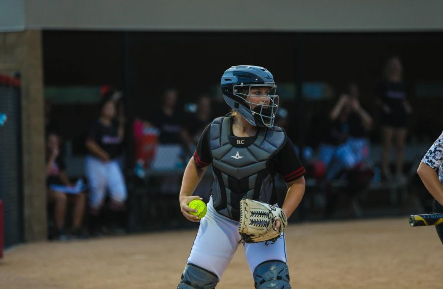 Rylee Cain is a senior on this year's softball team.