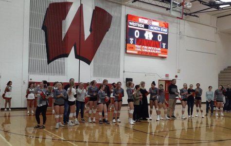 Westside Volleyball Hosts Teacher Appreciation Night