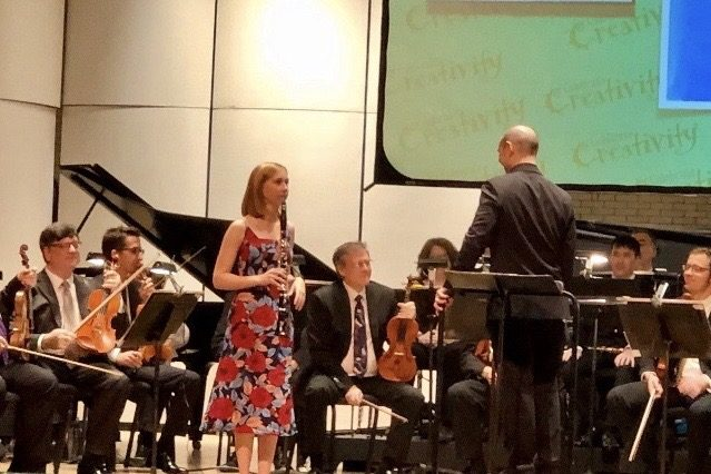Westside High School Senior Reese Pike performed with the Omaha Symphony on Tuesday, Oct. 22.