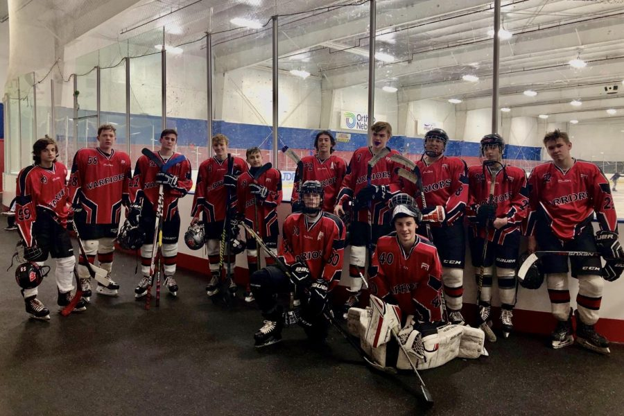 The Westside Hockey team has had to rebuild their team this year, after seven seniors graduated and left the program.