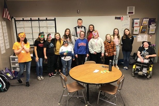 Westside High School's Project Unify club hosted their annual trick-or-treat event on Monday, Oct. 30.
