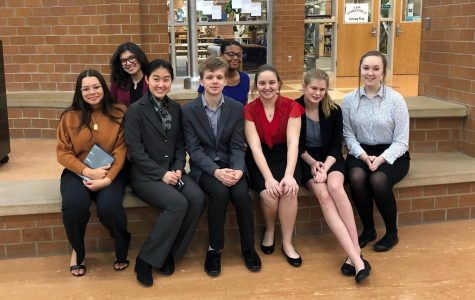 Seniors In Speech Club Given Unique Opportunity To Judge Competitions