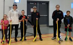 Sunset Hills Elementary Hosts Unified Floor Hockey Event