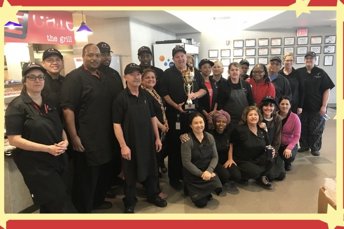 The Westside High School Nutrition Services Team was recently awarded the Westside Royalty Cup.