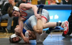 Seventh-ranked freshman Logan Edwards defeated sixth-ranked Tyler Durden in a 6-2 decision.
