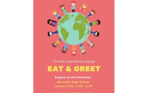 """Language Department Hosts """"Eat & Greet"""" Event for Middle School Students"""