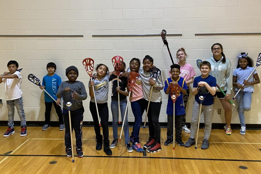 The Westside girls lacrosse club hosted a free clinic for students at Westbrook's Elementary Hawkins Boys and Girls Club last Monday, Feb. 3.
