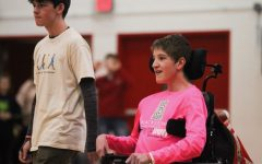 Westside Special Olympians Recognized At Basketball Game