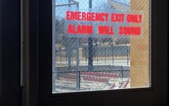 Alarms Recently Placed On 'Baseball Doors' At High School