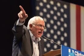 Vermont Senator Bernie Sanders is currently leading in the polls with Former Vice President Joe Biden trailing him.