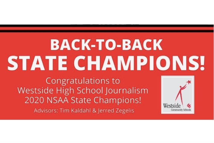 Westside High Schools Journalism department recently won the NSAA State Journalism competition for the second year in a row, making them back-to-back champions.