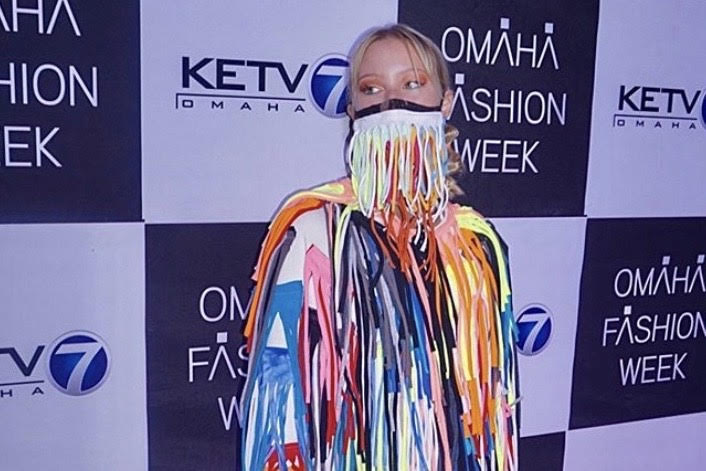 Gretchen Nelson was recently a model for Omaha Fashion Week.