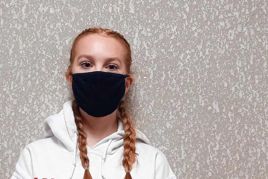 When people wear their masks below their nose because it's so pointless so like you might as well walk around with no mask on, because it defeats the whole purpose and I don't want to get your germs, freshman Lexi Brian.