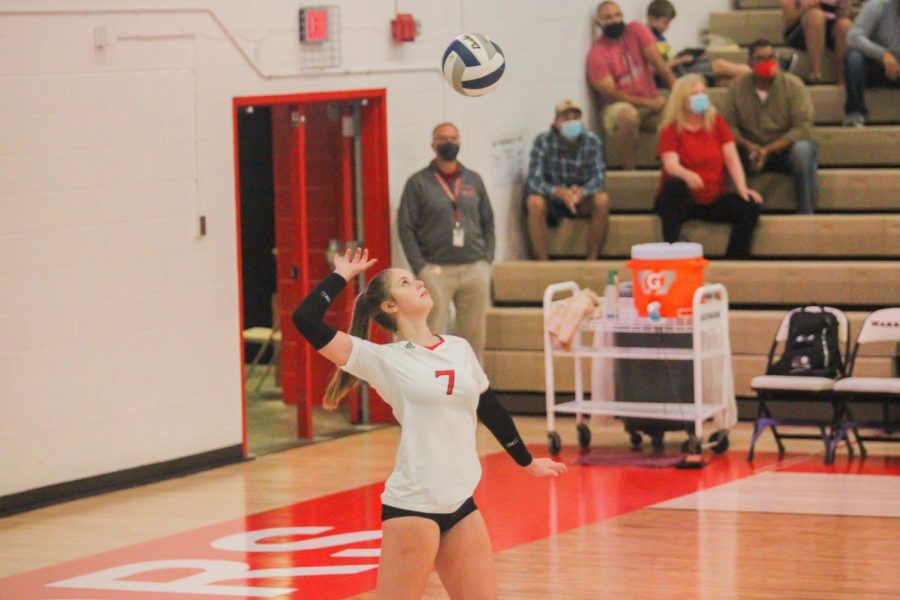 Recap: Volleyball Senior Night