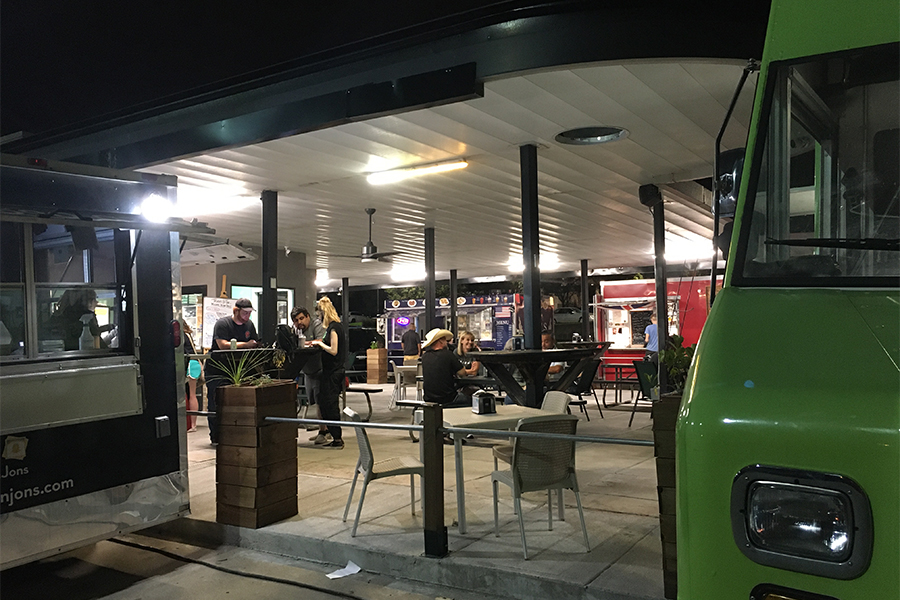 Food Review: Trucks and Taps